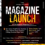 """Official launch of """"Get Inspired Magazine Vol. 2"""" of IAMBEST MAGAZINE is here… 10th October"""